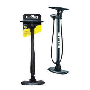 Galaxy Floor Pump with Top Mounted Gauge