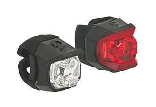 Cosmic Combo Front and Rear LED Lights