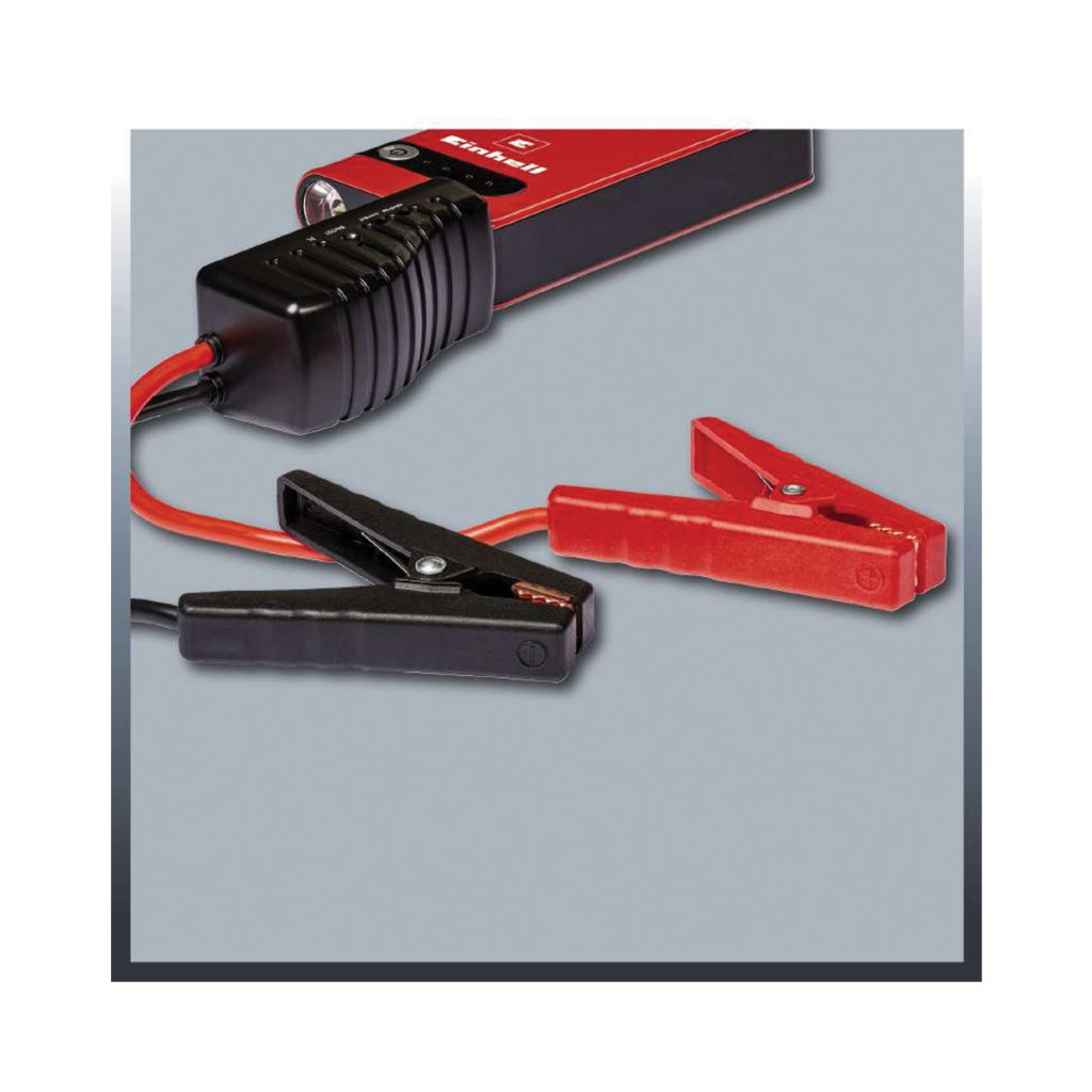 12 V Einhell CC-JS 8 Portable Jump Start//Power Station 8 Ah Red